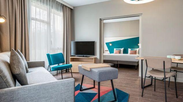 Living space in Adagio Stratford, Stratford, London