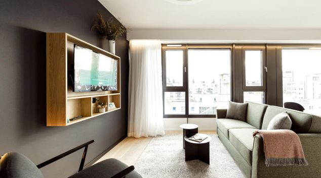 Lounge at Wilde Aparthotels by Staycity Checkpoint Charlie, Centre, Berlin