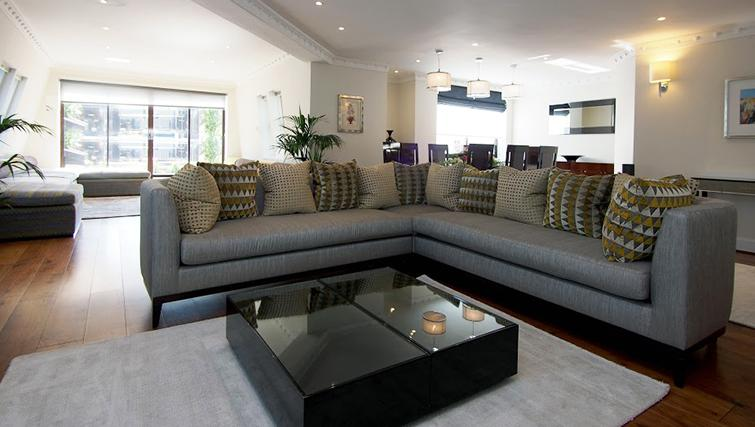Sofa at Mayfair House Apartments