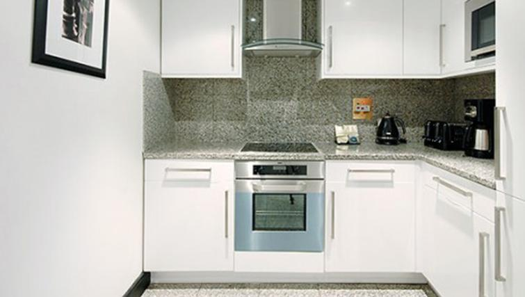 Kitchen in 3 bed at Mayfair House Apartments