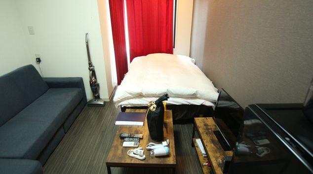 Lounge at Gyotoku 2 Apartments, Ichikawa, Chiba