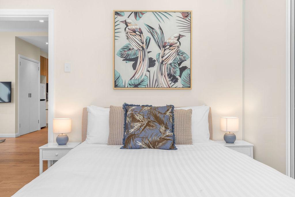 Bedroom at The Seymour Apartments, Paddington, Sydney