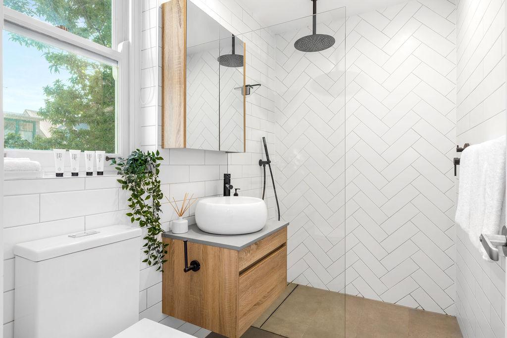 Bathroom at The Seymour Apartments, Paddington, Sydney