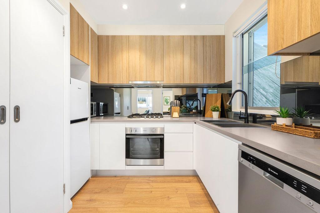 Modern kitchen at The Seymour Apartments, Paddington, Sydney