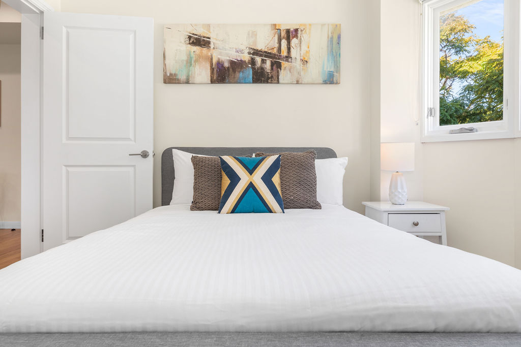 Bedding at The Seymour Apartments, Paddington, Sydney