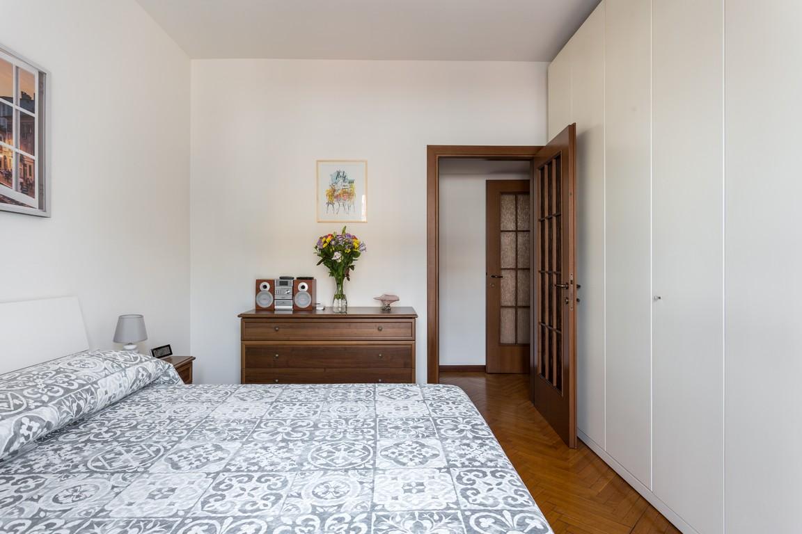 Bed at Bright Caneva Apartment, Bullona, Milan