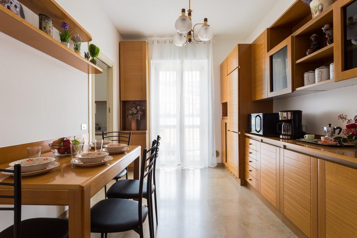 Dining area at Bright Caneva Apartment, Bullona, Milan