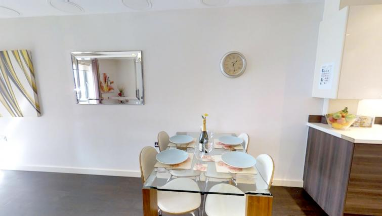 Dining area at Kaleidoscope Apartments