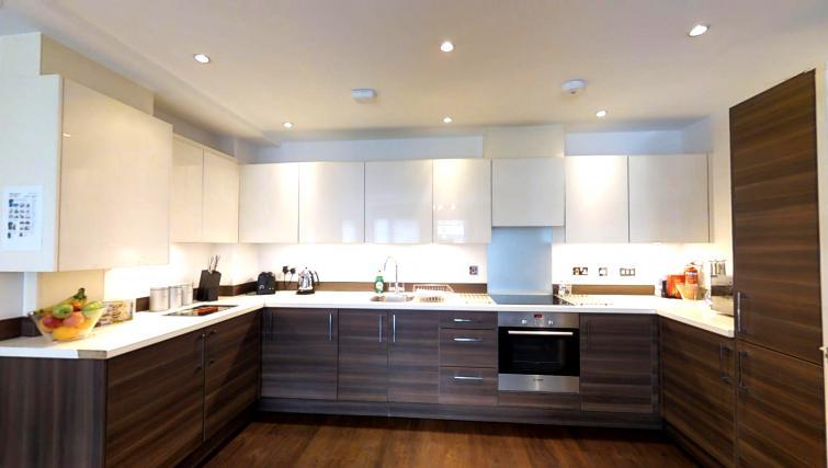 Kitchen at Kaleidoscope Apartments