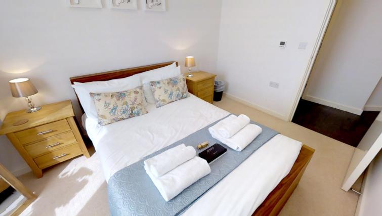 Bedroom at Kaleidoscope Apartments