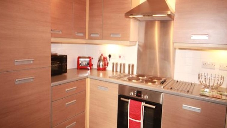 Amazing kitchen in The Triangle Apartments