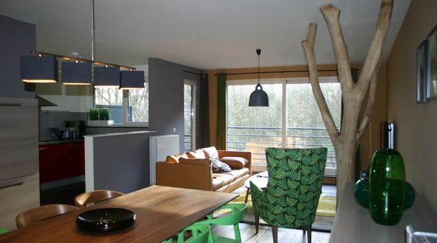 Living room at Fata Morgana Apartment, Galgeveld, Leuven