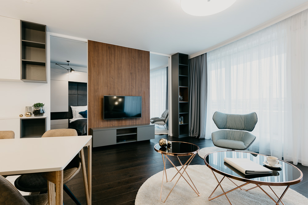 Open-plan at OVO Residence Wroclaw, Centre, Wroclaw
