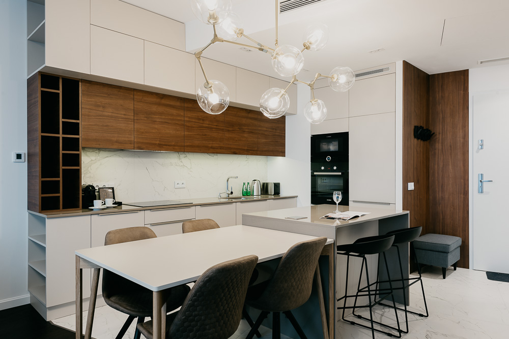 Kitchen at OVO Residence Wroclaw, Centre, Wroclaw