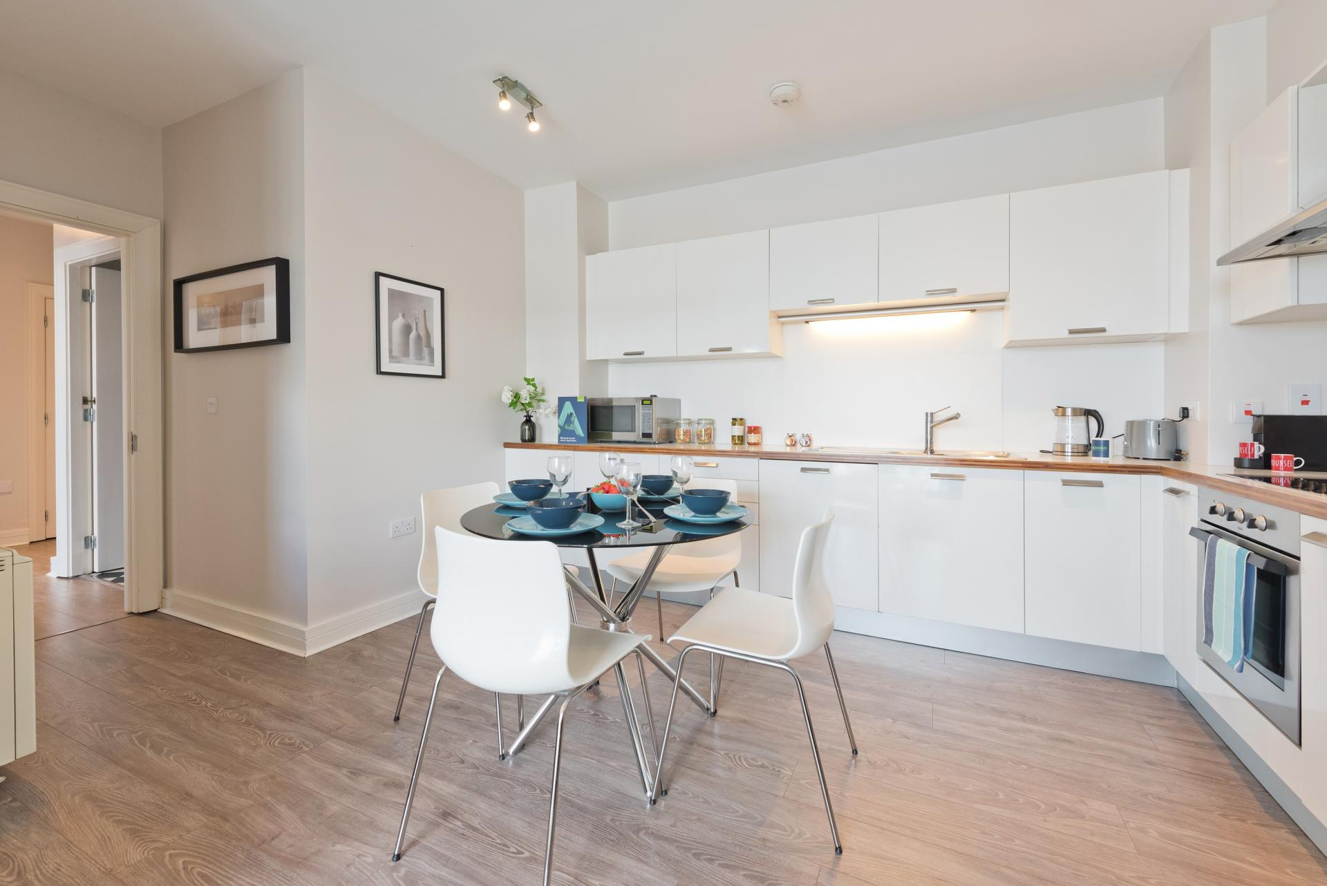 Dining area at Grand Canal Wharf 4 Apartment, Ringsend, Dublin