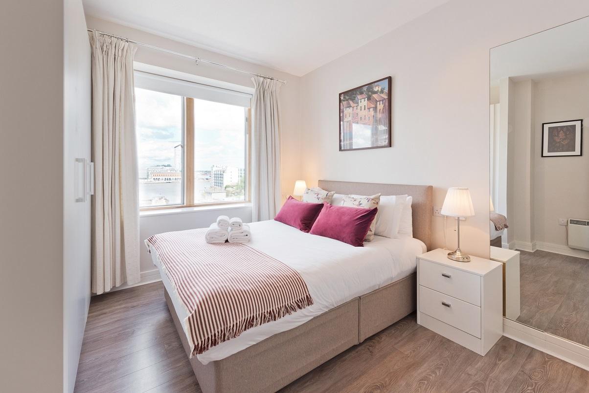Bed 1 at Grand Canal Wharf 4 Apartment, Ringsend, Dublin