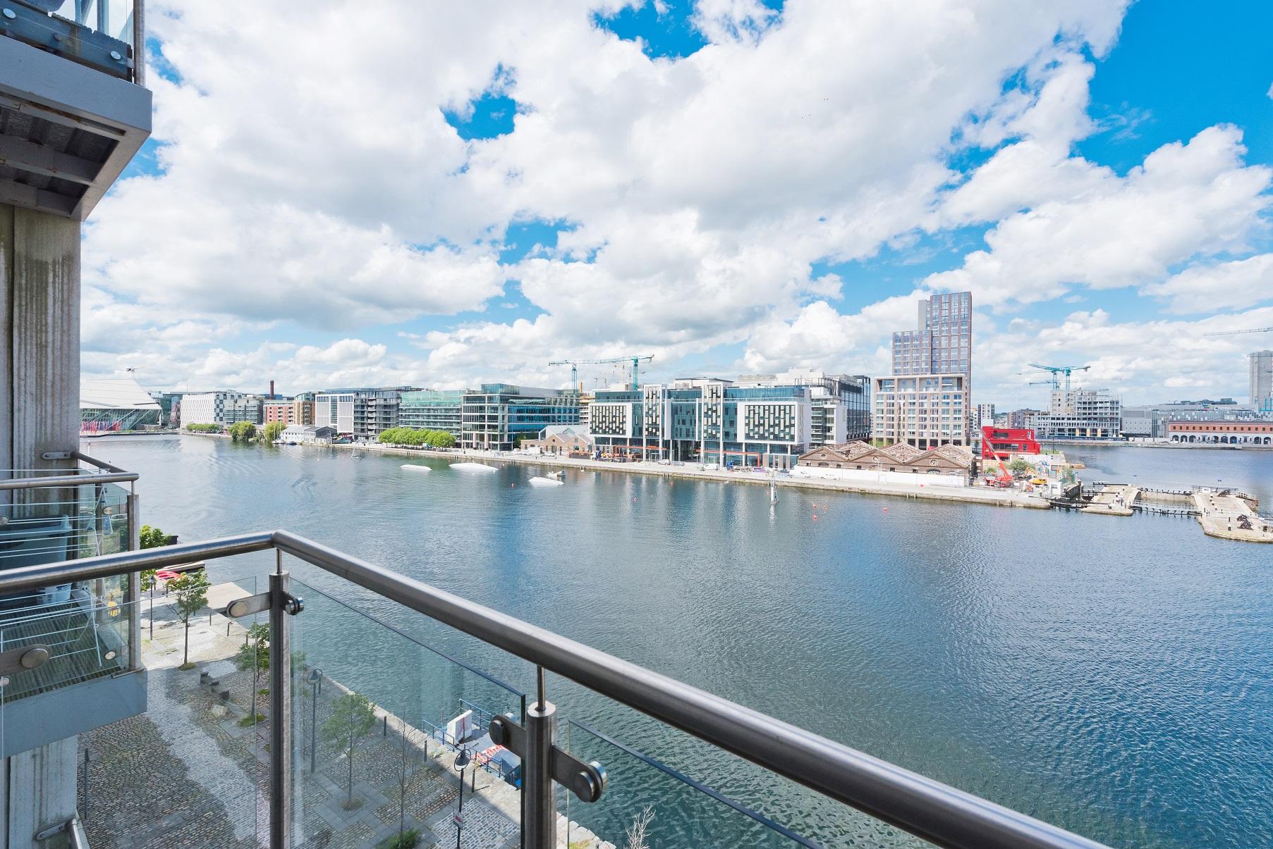 View at Grand Canal Wharf 4 Apartment, Ringsend, Dublin