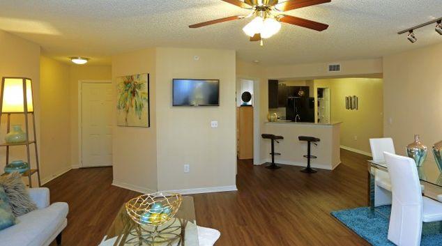 Living area at Colonnade Residences, Sunrise, Fort Lauderdale