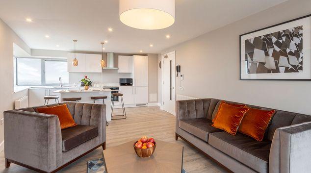 Living area at Metro Hotel Dublin Airport, Ballymun, Dublin