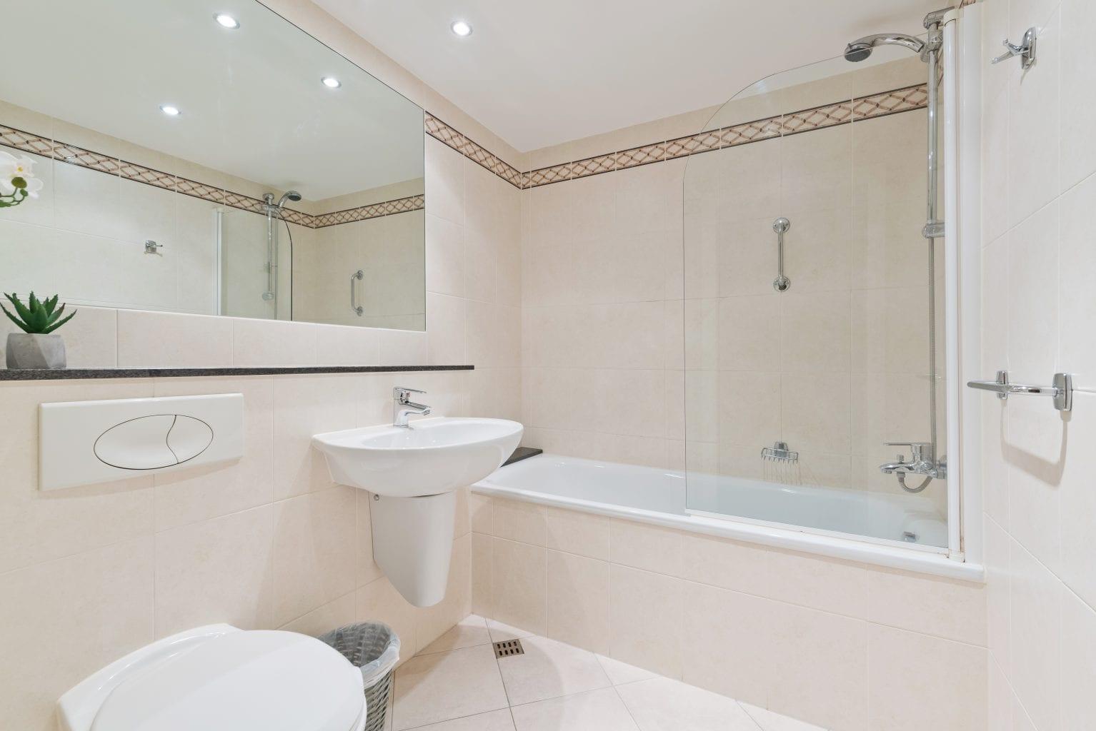 Bathroom at Longboat Quay, Docklands, Dublin