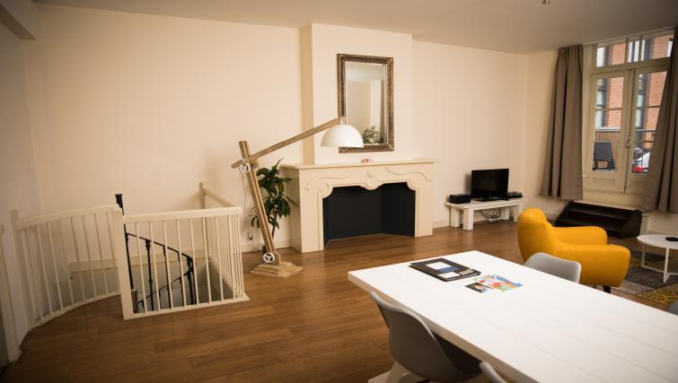 Lounge at the Plompetorengracht Apartments