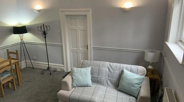 Living Area at Hursley Lodge, Centre, Lincoln