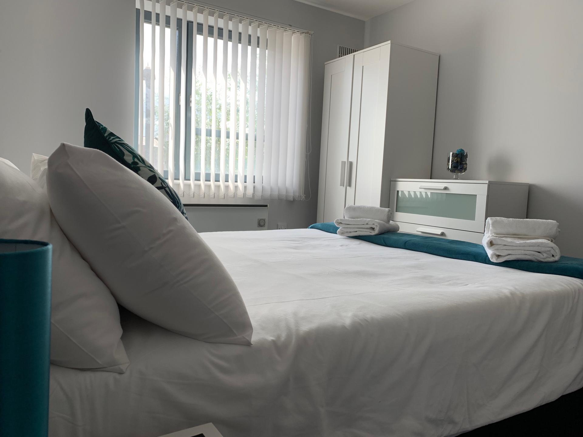 Pillows at Kelham Island Apartment, Neepsend, Sheffield