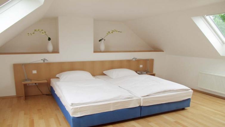 Large airy bedroom at Dusseldorf