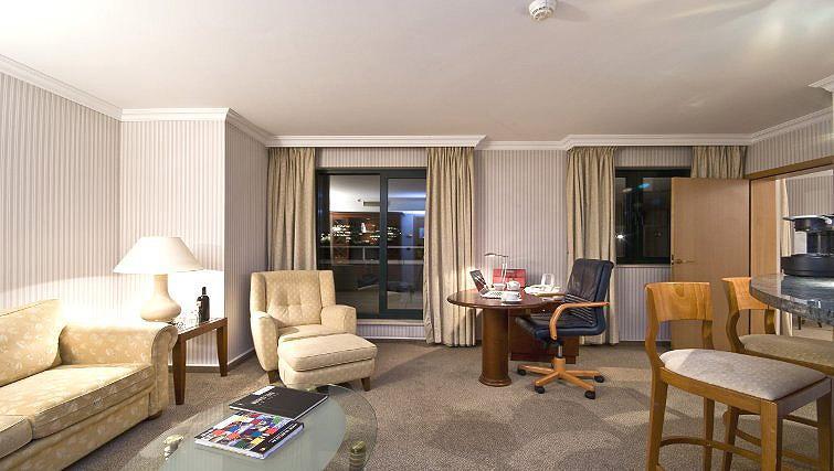 Wide living area in B-aparthotel Ambiorix