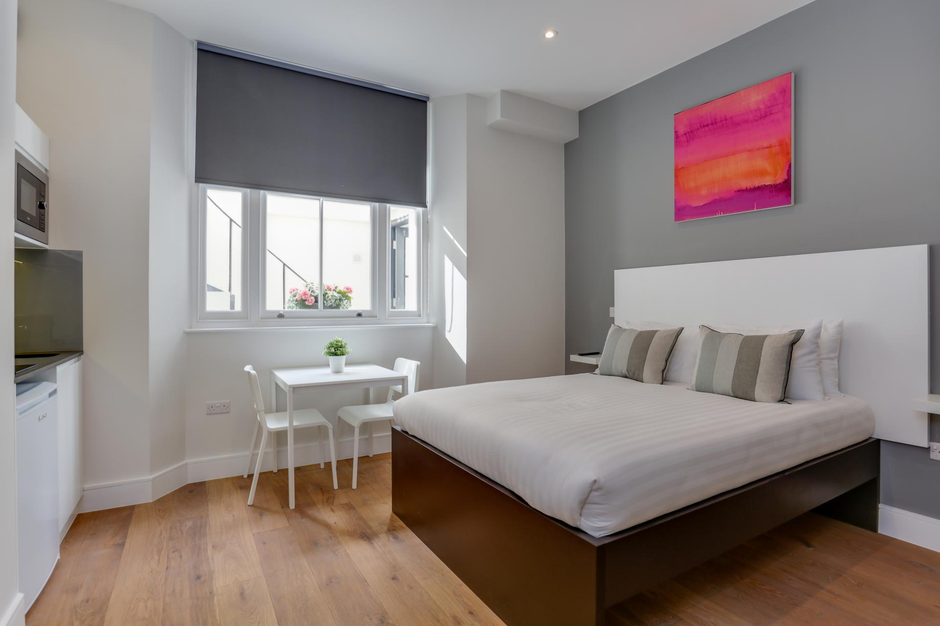Layout at Queensborough Terrace, Bayswater, London