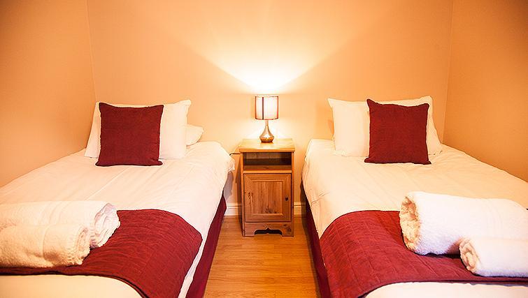 Bedroom at Royal Mile Apartments