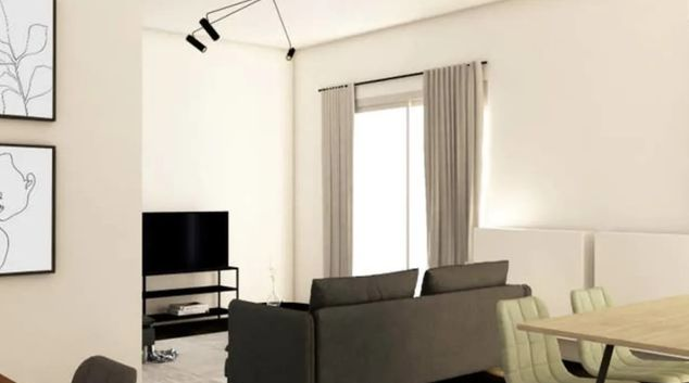 Living room at Hele Apartment, Marousi, Athens