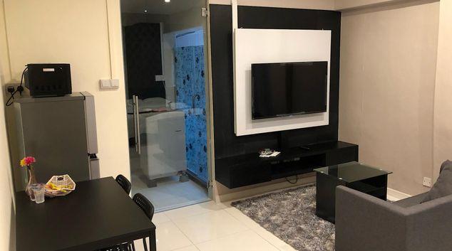 Living area at JJH Apartments, Centre, Singapore
