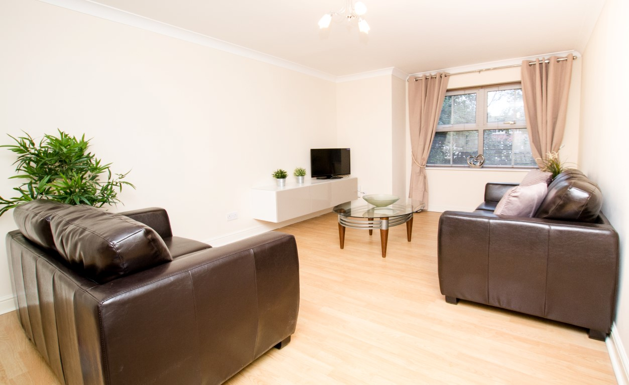 Living room at Maple Apartments, Centre, Redhill