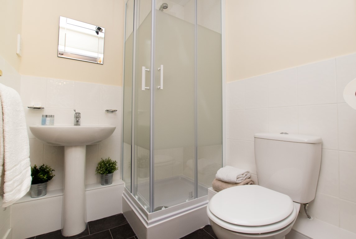 Shower at Maple Apartments, Centre, Redhill