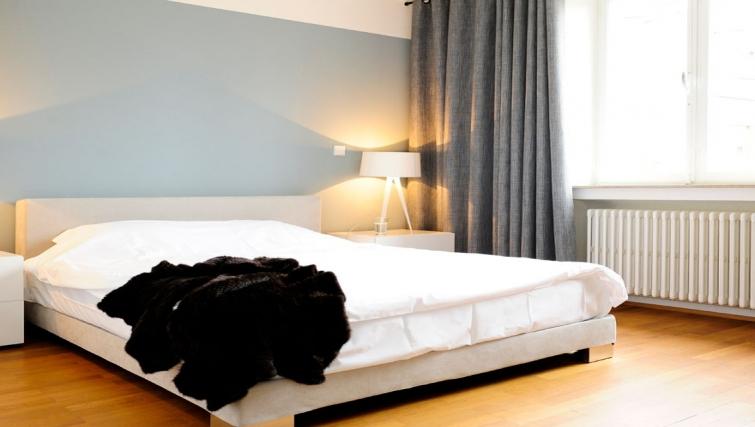 Spacious bedroom at Key Inn Apart-Hotel Limpertsberg