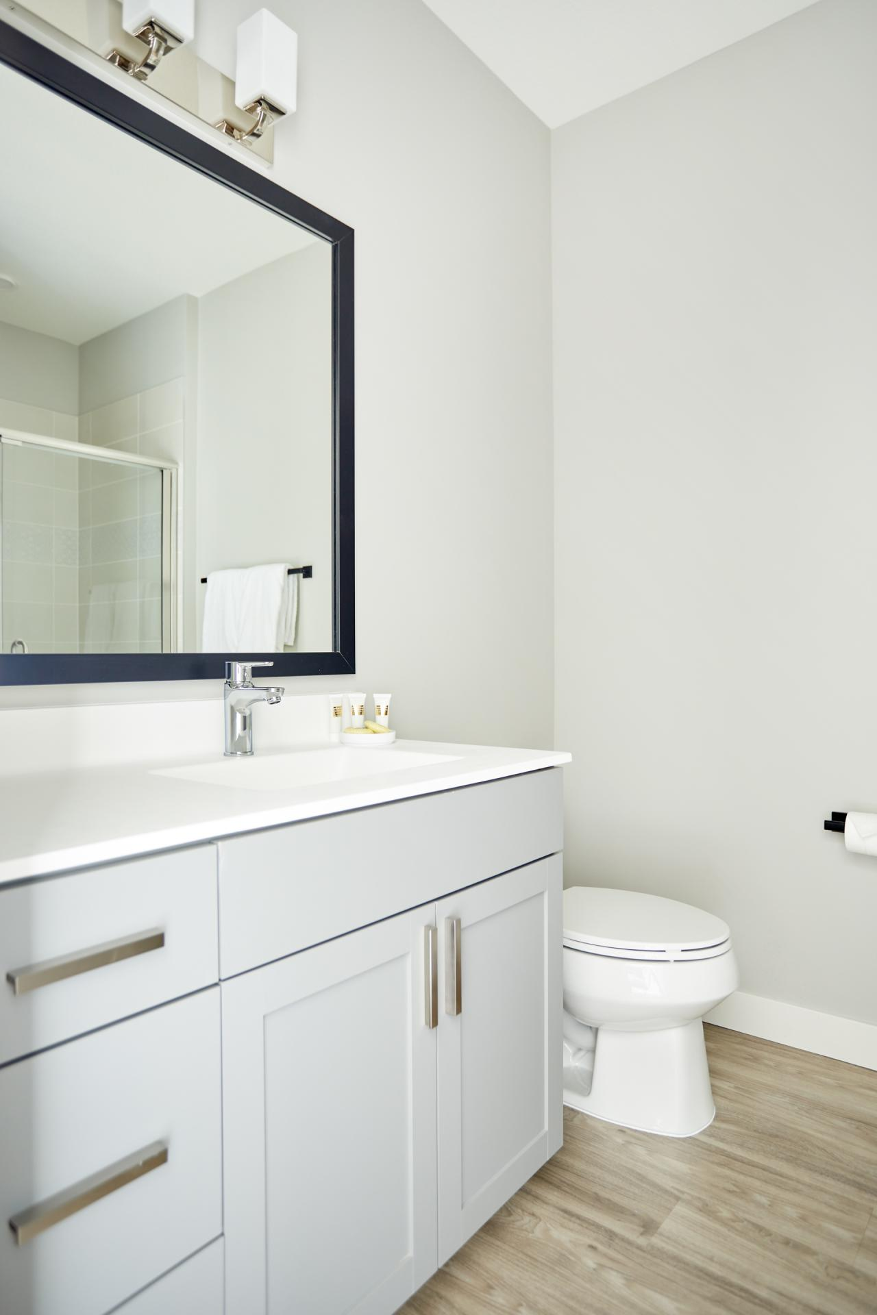 Bathroom at Vicinity Apartments, Centre, Minneapolis