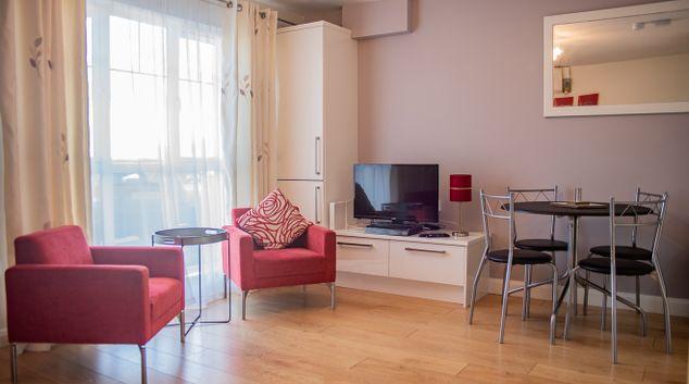 Living room at Holywell Swords Apartment, Swords, Dublin