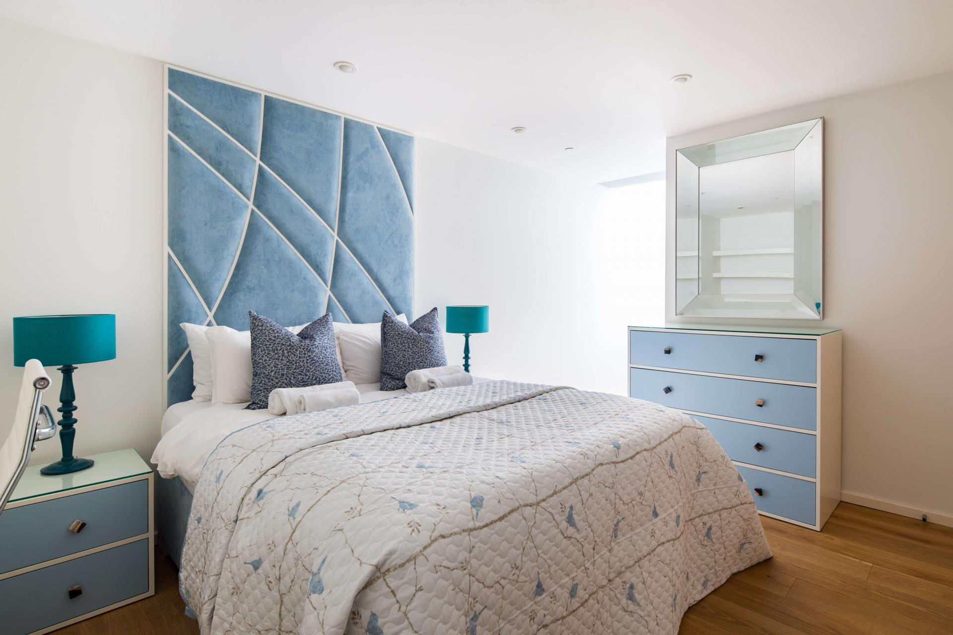 Bedroom at Meritas Court Apartments, Bayswater, London