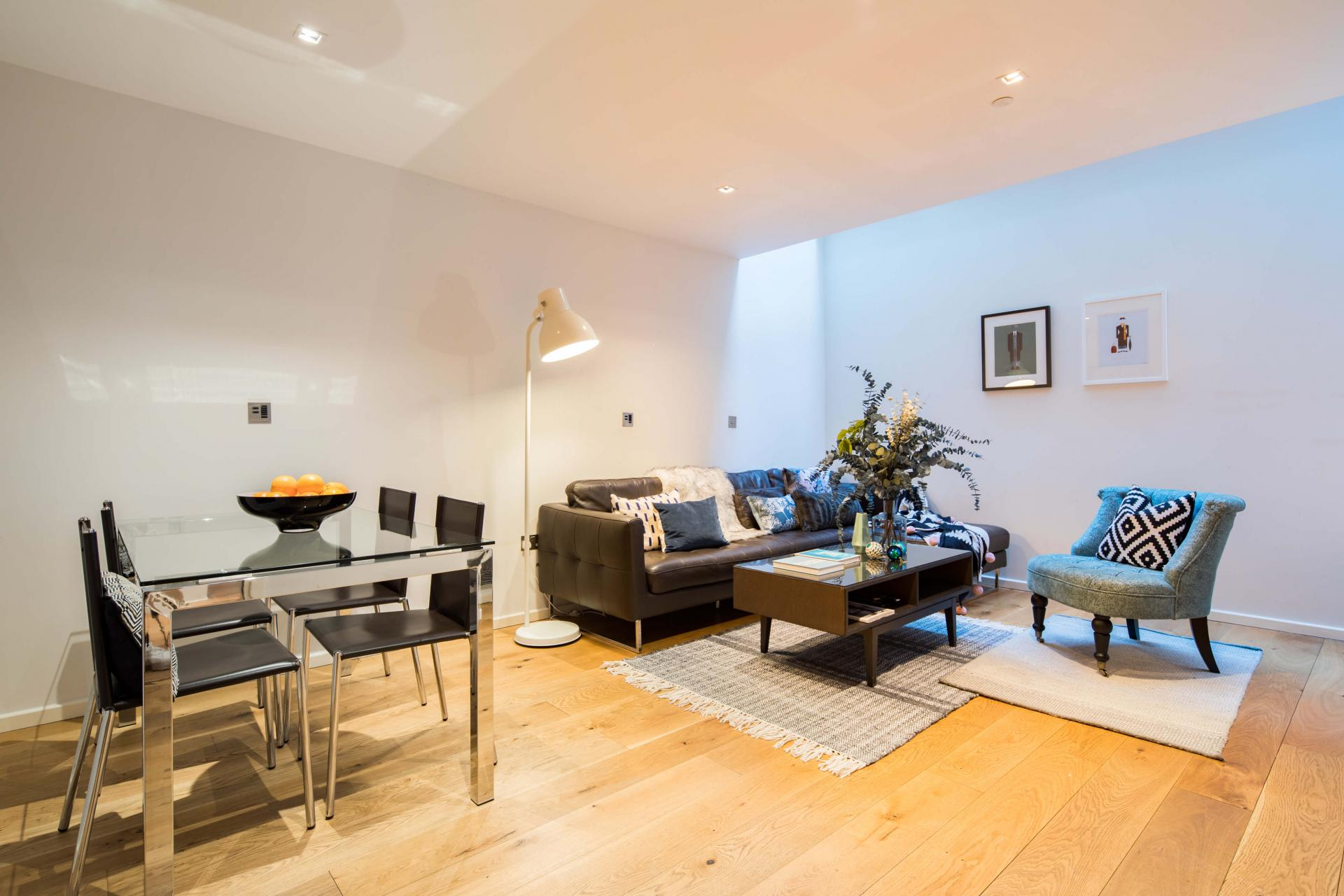 Open-plan at Meritas Court Apartments, Bayswater, London