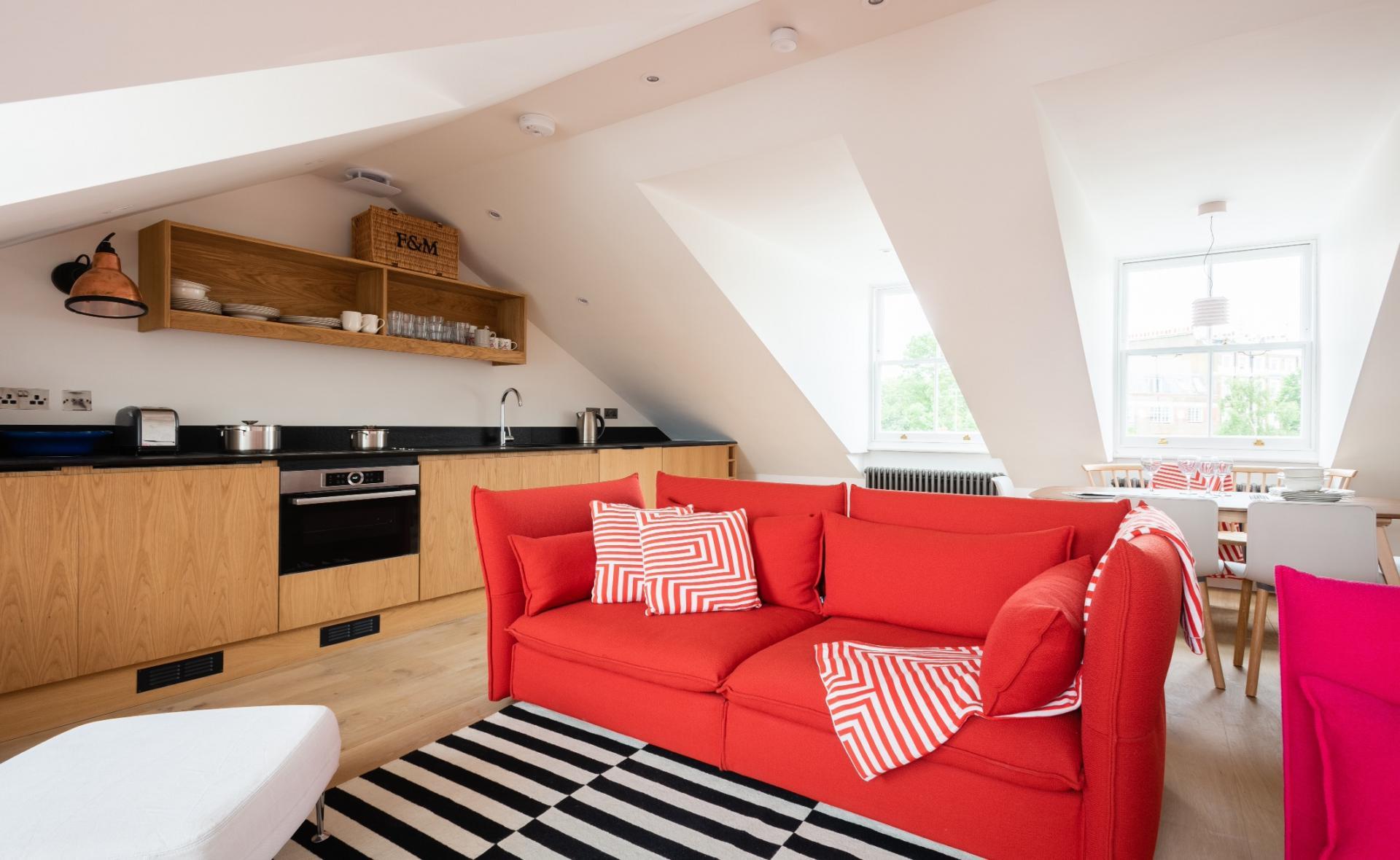 Rug at Lansdowne Crescent Apartment, Holland Park, London