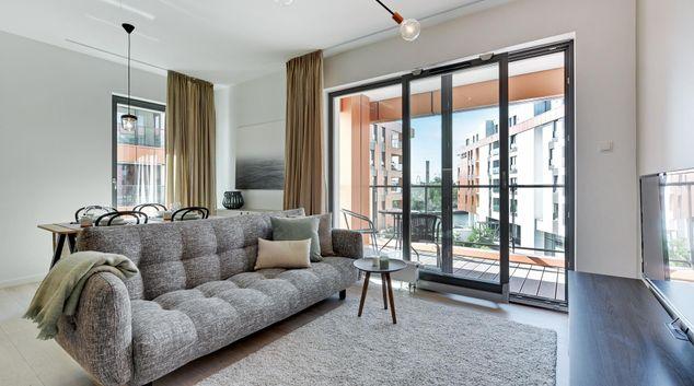 Lounge at Gdansk Riverside Apartments, Centre, Gdansk