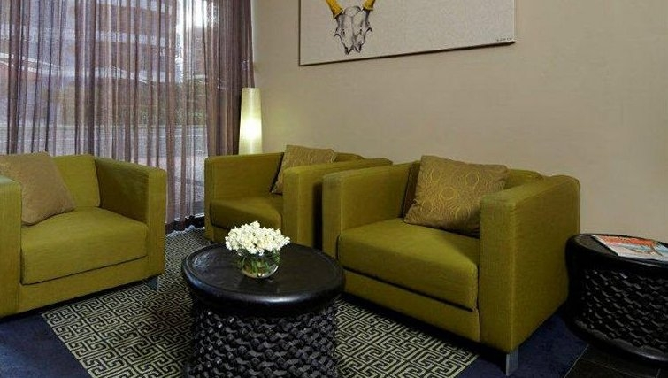 Attractive living area in Adina Apartment Hotel Wollongong