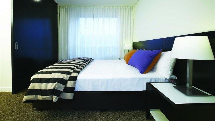 Comfortable bedroom in Adina Apartment Hotel Perth, Barrack Plaza