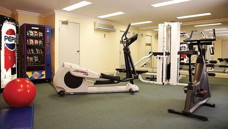 Fitness centre at v