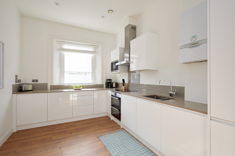 Kitchen at Inverness Mews, Bayswater, London
