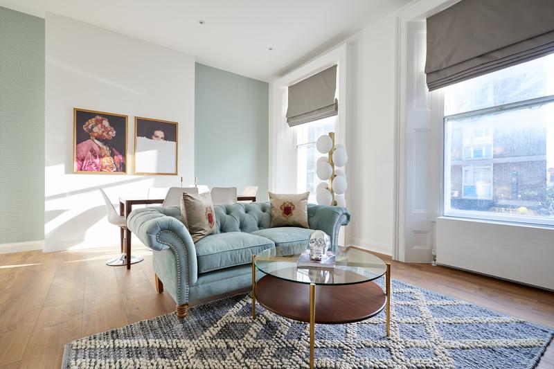 Sofa at Inverness Mews, Bayswater, London