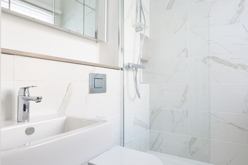 Bathroom at Inverness Mews, Bayswater, London