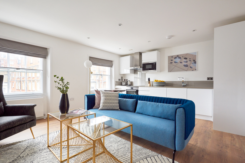 Open-plan at Inverness Mews, Bayswater, London