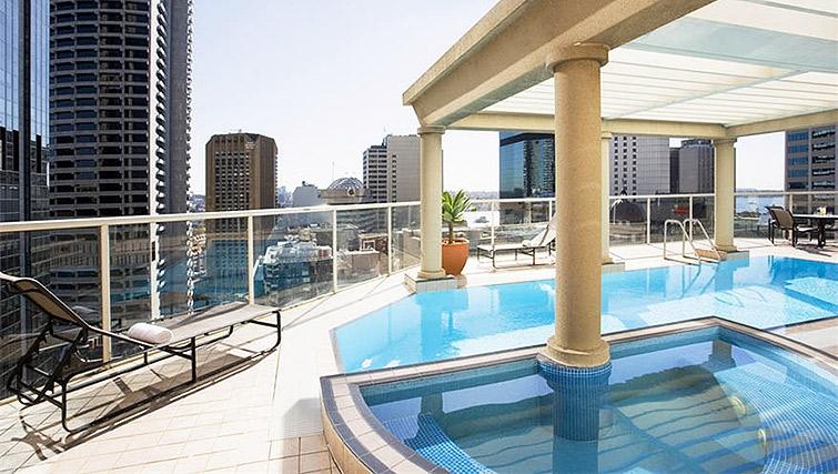Swimming pool at Mantra 2 Bond Street